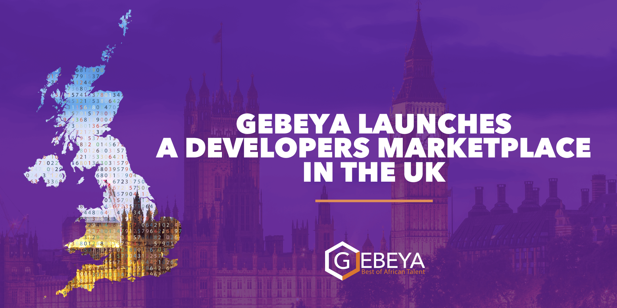 Gebeya Launches A developers Market In The Uk